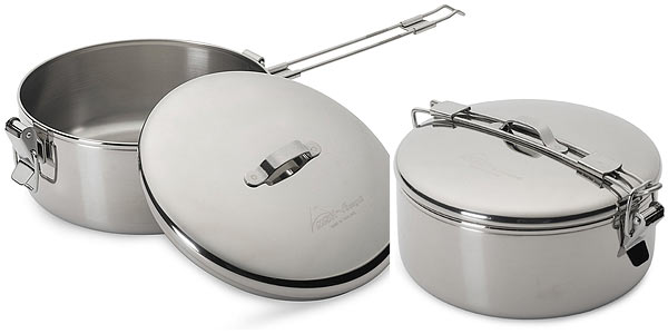 stainless steel small cooking pot