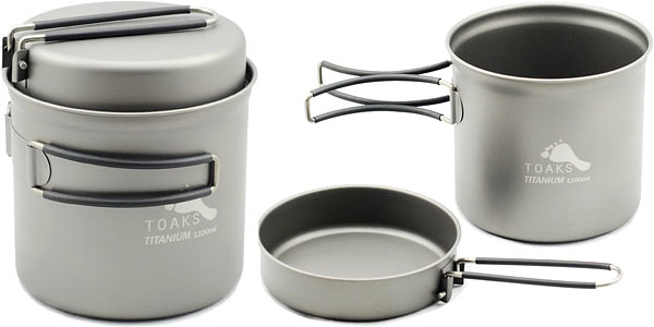 Titanium Cooking Pot