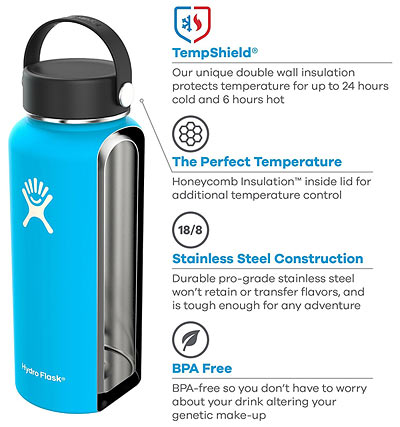 Hydro Flask best selling water bottle