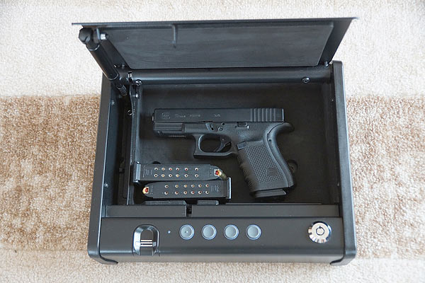 SentrySafe Biometric Gun Safe For Pistols and Handguns
