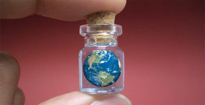 Your Tiny World Without Communication & Transportation