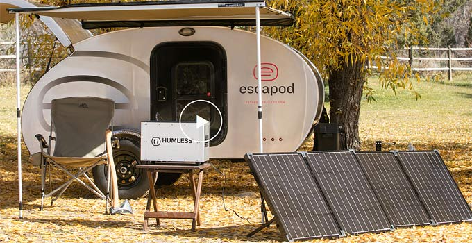 Solar Generator – Silent, Portable, Many Uses