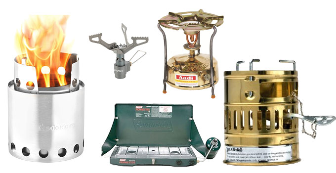 Stoves (Kerosene, Propane, Butane, Alcohol, Wood) For Cooking Preparedness