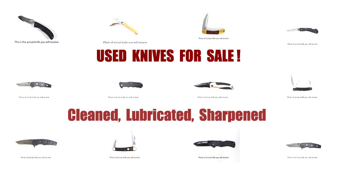 Used Knives For Sale