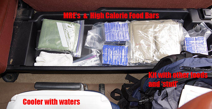 Food In Your Vehicle – What's Best For 72 Hour Survival Kit?