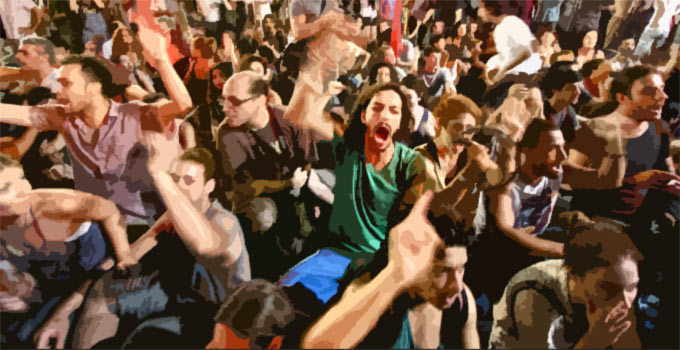 Mass Hysteria Like We've Never Seen As Anti-Trump Sentiment Rages