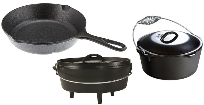 Cast Iron Cooking & Cookware Tips For The Beginner