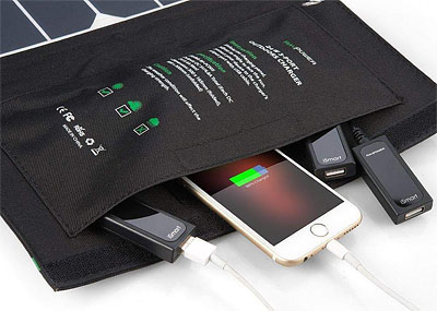 24 watt solar panel charger for cell phones