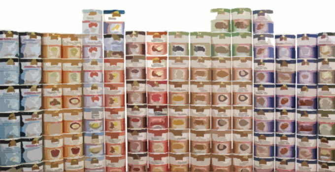 sample long term food storage