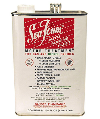 1 gallon of Sea Foam fuel treatment