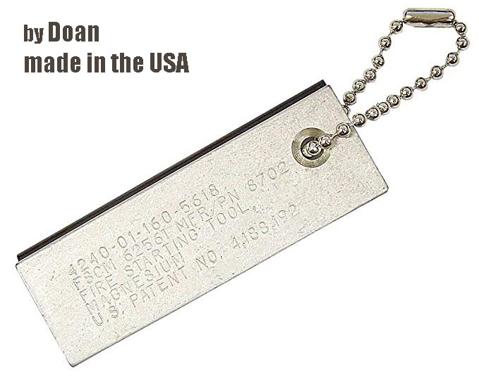 A Real Doan magnesium fire starter made in the USA