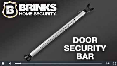 Door Security Bar manufactured by BRINKS