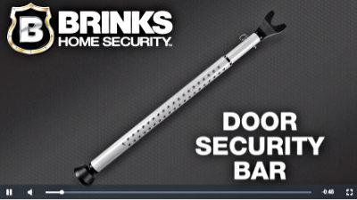 Door Security Bar manufactured by BRINKS