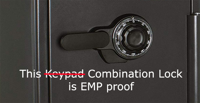 EMP proof Safe Combination Lock