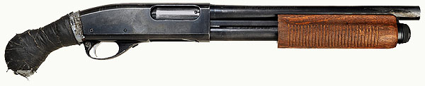 Remington 870 Witness Protection shotgun used in the Book of Eli by Denzel Washington