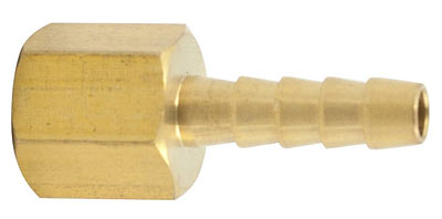 1/4 inch NPT barbed fitting female adapter