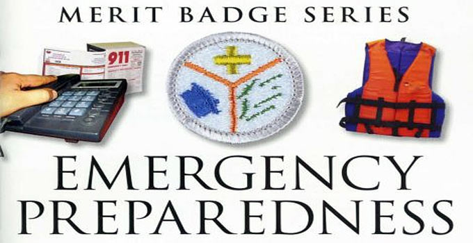 Emergency Preparedness Merit Badge Requirements & Commentary