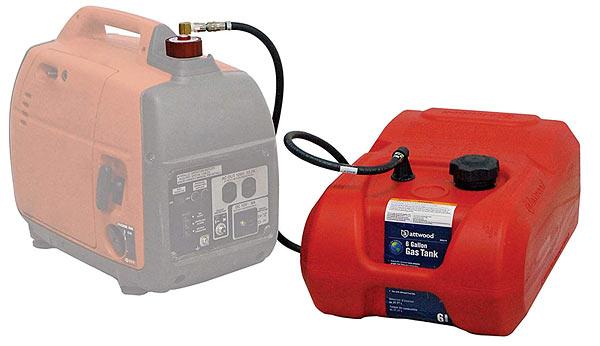 External fuel tank for Honda generator
