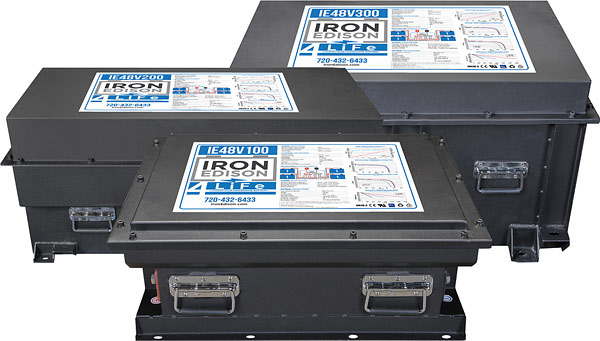 Lithium Iron battery for off-grid solar