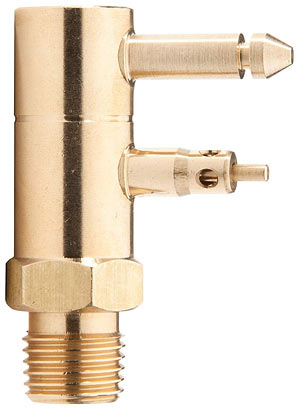 Brass Quick-Connect Tank Fitting 1/4-Inch NPT Male Thread for Johnson/Evinrude/OMC