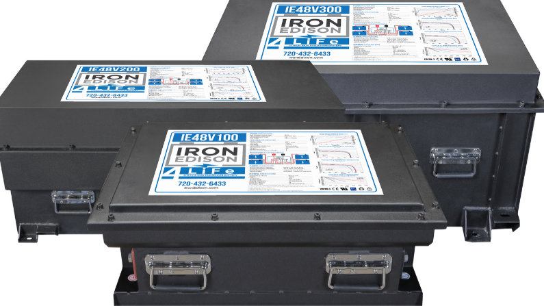 New Lithium Battery at Iron Edison | Lower Cost of Ownership