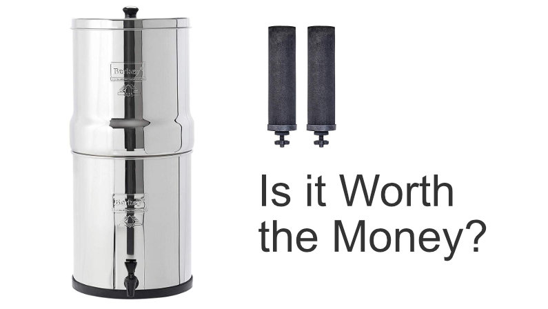 The Berkey water filter is expensive, but is it worth it?`