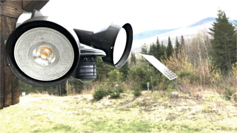 Tips how to setup outdoor motion lights.