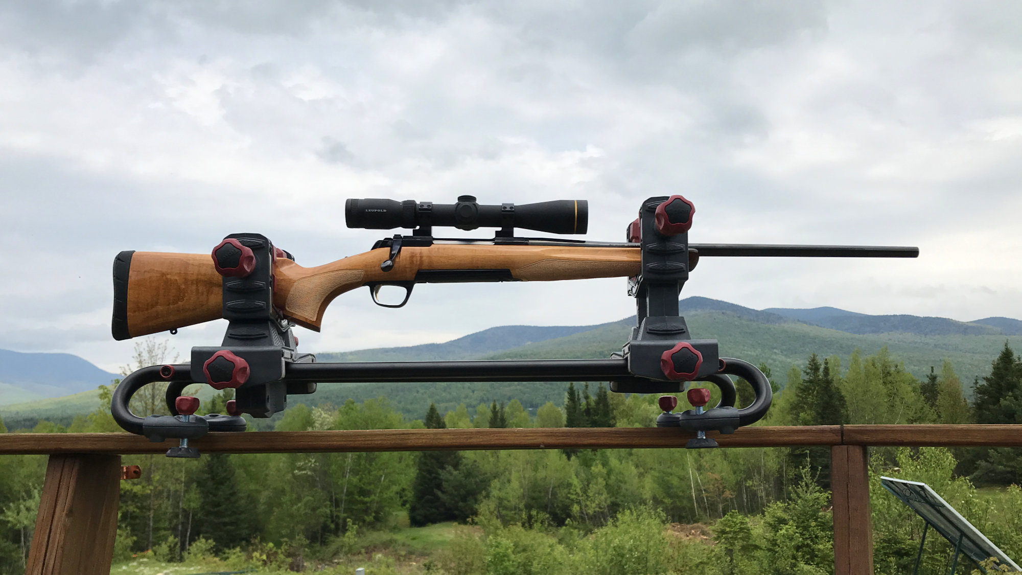 Limited Edition Browning X-Bolt Medallion Rifle with a Maple stock
