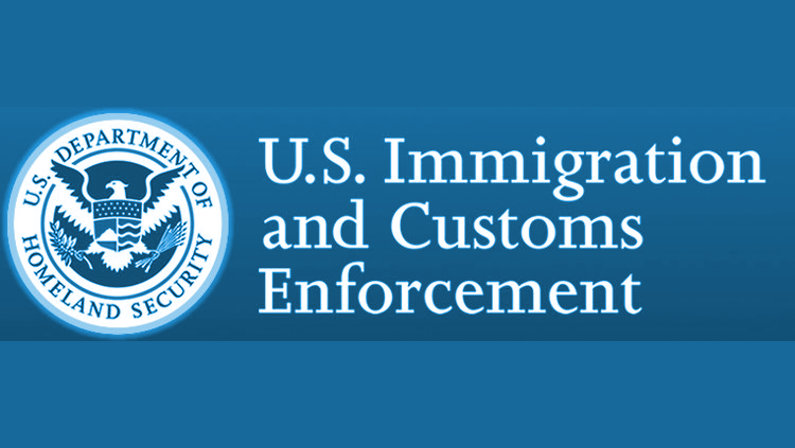 Homeland Security - U.S. Immigration and Customs Enforcement logo