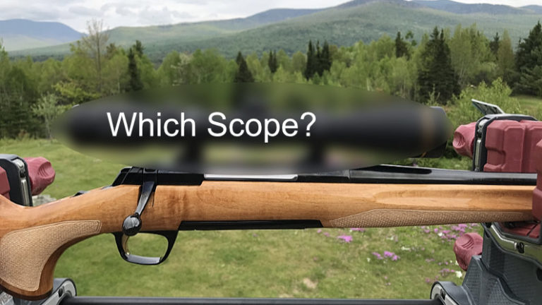 I Need A New Scope For My Bolt Action 30-06