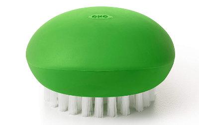 The most popular vegetable scrub brush.