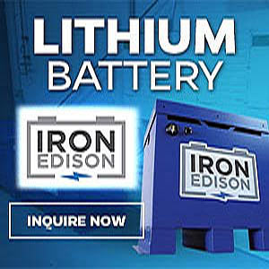 Lithium Iron OFF-GRID batteries