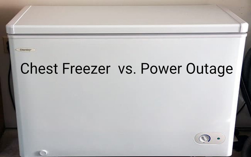best way to keep chest freezer running during power outage