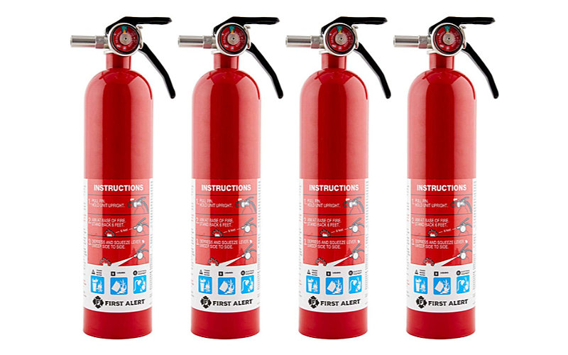 Fire Extinguishers | 3 or More Locations for House Fire Preparedness
