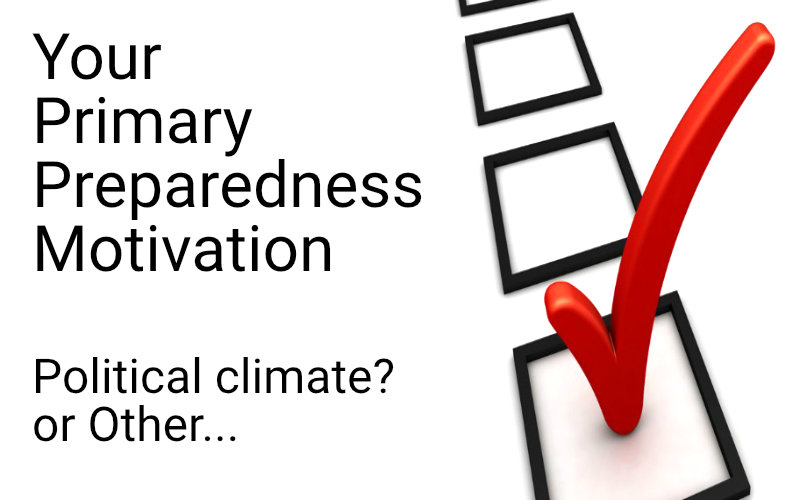 primary preparedness motivation POLL
