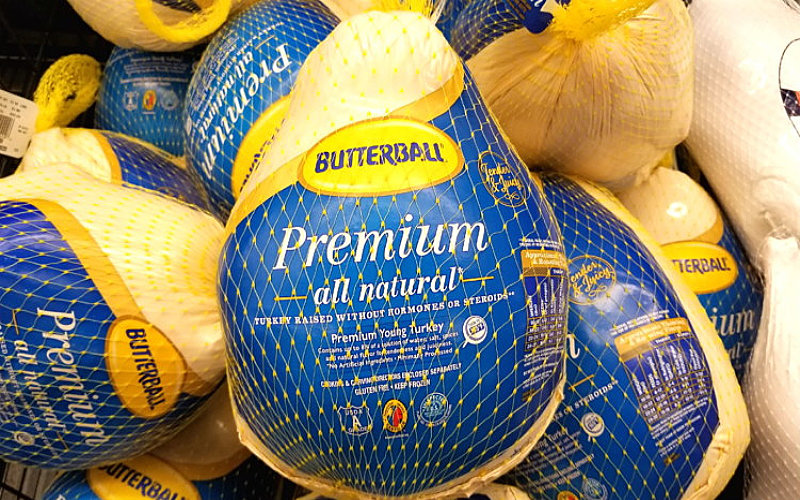 Right After Thanksgiving (or Christmas) Turkeys Are Cheap!