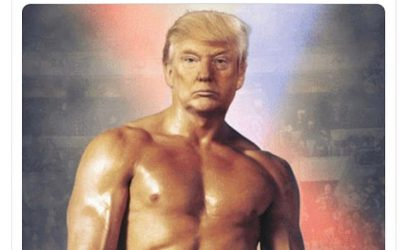 The Libs Are Going NUTS Over Trump-Rocky Photo Tweet