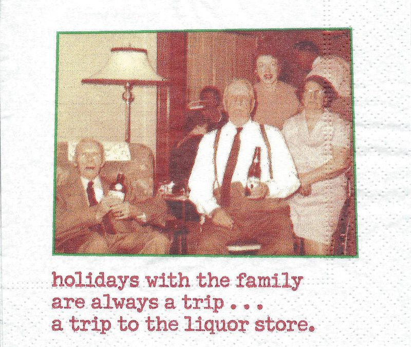 Holidays With The Family Are Always A Trip…