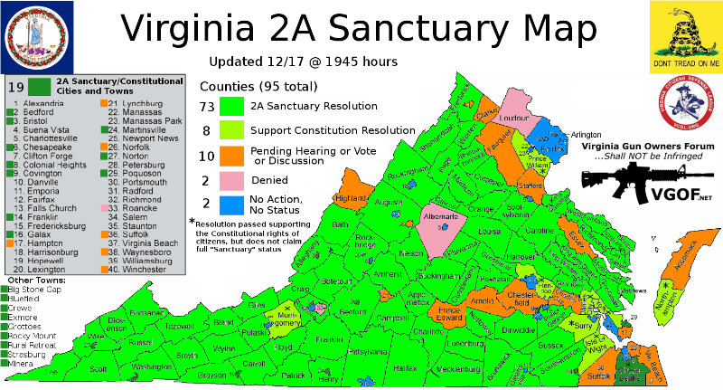 Virginia Ground Zero for Gun Control Fight (UPDATE)