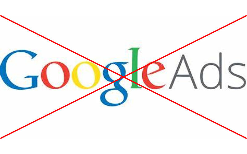 No More GOOGLE Ads on my Site
