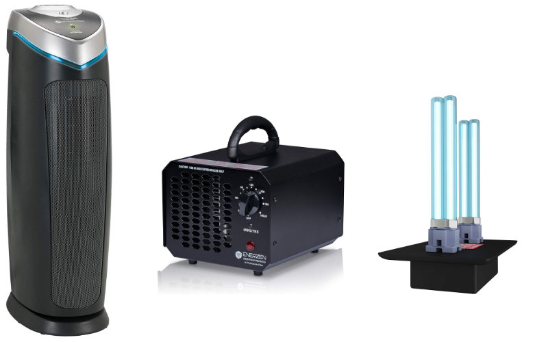 air purifier technologies, ozone, ultraviolet, hepa