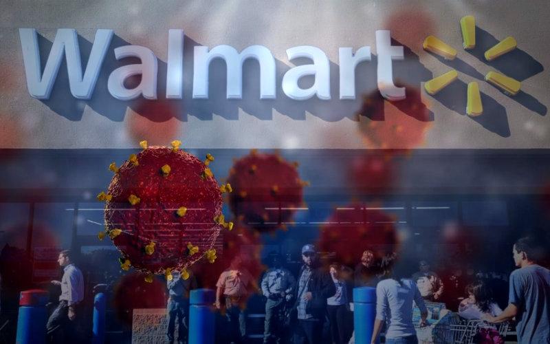 Coronavirus affect on Walmart