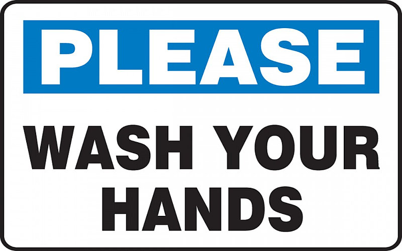 This is the right way to wash your hands.