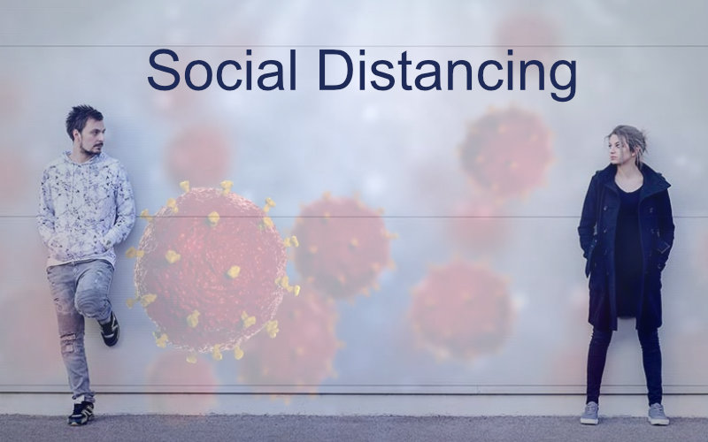 Coronavirus social distancing and self isolation