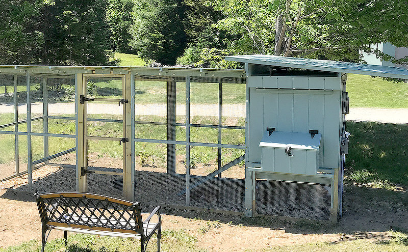My chicken coop and run