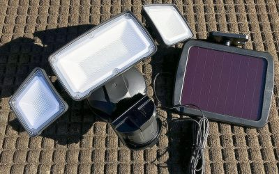 Solar Motion Light for Home Security | Mount Them Anywhere