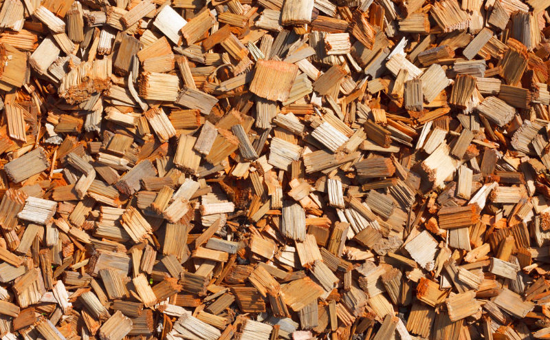wood chips for the garden