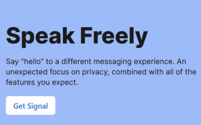 SIGNAL App – Encrypted Messaging Big Tech & Big Brother Don't Like
