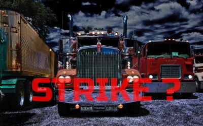 How Working Class Truckers Might Protest >> Shut 'er Down