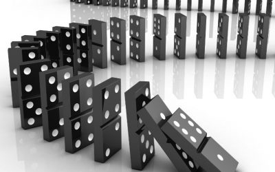 Threshold Of Societal Chaos – Dominoes About To Topple